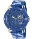 Marc Ecko Men's The Tran E09530G8 Blue Silicone Quartz Watch - Main Image Swatch