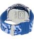 Marc Ecko Men's The Tran E09530G8 Blue Silicone Quartz Watch - Back Image Swatch