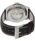 Hamilton Men's Jazzmaster H32515535 Black Leather Swiss Automatic Watch - Back Image Swatch