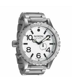 Nixon Men's 51-30 A0571166 White Stainless-Steel Swiss Quartz Watch