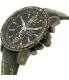 Seiko Men's Sportura SNAE97 Black Leather Quartz Watch - Side Image Swatch