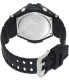 Casio Men's G-Shock GA1000-1A Black Silicone Quartz Watch - Back Image Swatch