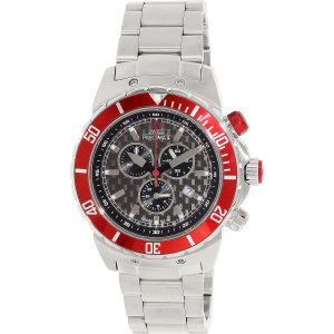 Swiss Precimax Men's Pursuit Pro SP13300 Silver Stainless-Steel Swiss Chronograph Watch