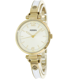 Fossil Women's Georgia ES3260 Gold Stainless-Steel Analog Quartz Watch