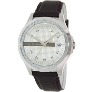 Armani Exchange Men's AX2100 Brown Leather Quartz Watch