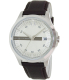Armani Exchange Men's AX2100 Brown Leather Quartz Watch - Main Image Swatch