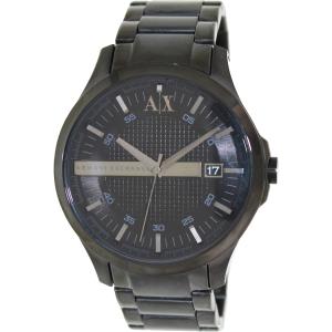 Armani Exchange Men's AX2104 Black Stainless-Steel Quartz Watch