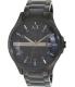 Armani Exchange Men's AX2104 Black Stainless-Steel Quartz Watch - Main Image Swatch