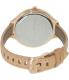 Michael Kors Women's Runway MK2284 Rose Gold Leather Quartz Watch - Back Image Swatch