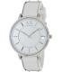 Armani Exchange Women's AX5300 White Leather Analog Quartz Watch - Main Image Swatch