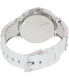 Armani Exchange Women's AX5300 White Leather Analog Quartz Watch - Back Image Swatch