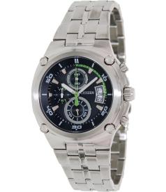 Citizen Men's Chronograph AN3450-50L Blue Stainless-Steel Quartz Watch