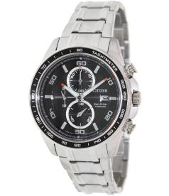 Citizen Men's Eco-Drive CA0340-55E Black Titanium Eco-Drive Watch