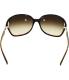 Coach Women's Gradient  HC8018-503513-60 Brown Rectangle Sunglasses - Back Image Swatch