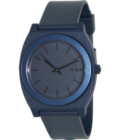 Nixon Men's Time Teller A1191309 Blue Rubber Quartz Watch