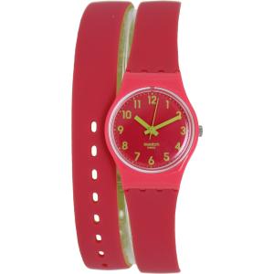 Swatch Women's Originals LP131 Pink Rubber Swiss Quartz Watch