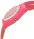 Swatch Women's Originals LP131 Pink Rubber Swiss Quartz Watch - Side Image Swatch