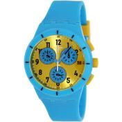 Swatch Men's Originals SUSS400 Yellow Silicone Swiss Quartz Watch