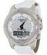Tissot Women's T-Touch Ii T047.220.46.086.00 White Leather Swiss Quartz Watch - Main Image Swatch