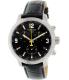 Tissot Men's Prc 200 T055.417.16.057.00 Black Leather Swiss Chronograph Watch - Main Image Swatch
