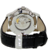Guess Collection Men's GC Classica X84003G5S Black Leather Swiss Automatic Watch - Back Image Swatch