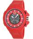 Armani Exchange Men's AX1281 Red Silicone Quartz Watch - Main Image Swatch