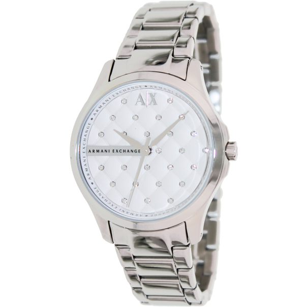 Armani Exchange Women's AX5208 White Stainless-Steel Quartz Watch