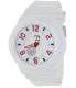 Casio Women's Baby-G BGA133-7B White Resin Quartz Watch - Main Image Swatch