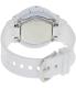 Casio Women's Baby-G BGA133-7B White Resin Quartz Watch - Back Image Swatch