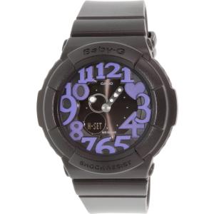 Casio Women's Baby-G BGA134-1B Black Resin Quartz Watch