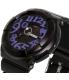 Casio Women's Baby-G BGA134-1B Black Resin Quartz Watch - Side Image Swatch