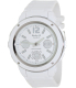 Casio Women's Baby-G BGA150-7B White Resin Quartz Watch - Main Image Swatch