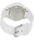Casio Women's Baby-G BGA150-7B White Resin Quartz Watch - Back Image Swatch
