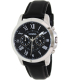 Fossil Men's Grant FS4812 Black Leather Quartz Watch - Main Image Swatch