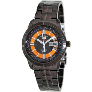 Seiko Men's SRP345K Black Stainless-Steel Analog Quartz Watch