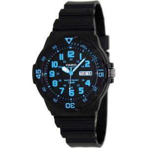 Casio Men's MRW200H-2BV Black Plastic Quartz Watch