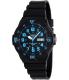Casio Men's MRW200H-2BV Black Plastic Quartz Watch - Main Image Swatch
