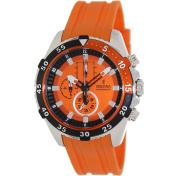 Festina Men's La Vuelta F16604/3 Orange Rubber Analog Quartz Watch