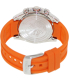 Festina Men's La Vuelta F16604/3 Orange Rubber Analog Quartz Watch - Back Image Swatch