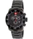 Swiss Precimax Men's Verto Pro SP13033 Black Stainless-Steel Swiss Chronograph Watch - Main Image Swatch