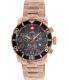 Swiss Precimax Men's Verto Pro SP13040 Gold Stainless-Steel Swiss Chronograph Watch - Main Image Swatch