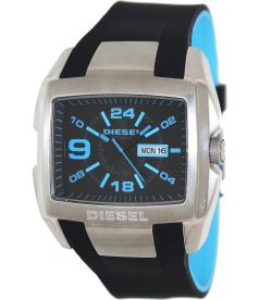 Diesel Men's DZ4287 Black Silicone Analog Quartz Watch