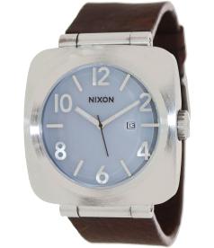 Nixon Men's Volta A117100 Blue Leather Analog Quartz Watch