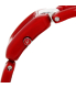 Nixon Women's Sisi A248200 Red Plastic Quartz Watch - Side Image Swatch