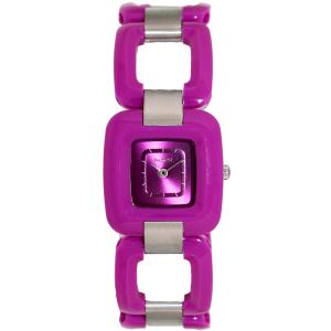 Nixon Women's Sisi A248698 Purple Plastic Quartz Watch