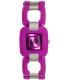 Nixon Women's Sisi A248698 Purple Plastic Quartz Watch - Main Image Swatch