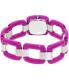 Nixon Women's Sisi A248698 Purple Plastic Quartz Watch - Back Image Swatch