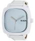 Nixon Men's Shutter A262100 White Leather Quartz Watch - Main Image Swatch