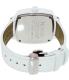 Nixon Men's Shutter A262100 White Leather Quartz Watch - Back Image Swatch