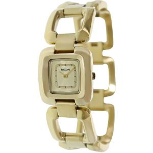 Nixon Women's Sisi Ss A285502 Gold Stainless-Steel Quartz Watch